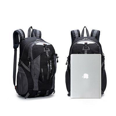 Nylon Backpack Waterproof USB Laptop Bag