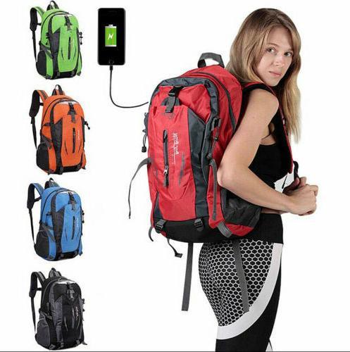 nylon travel sports shoulder backpack hiking waterproof
