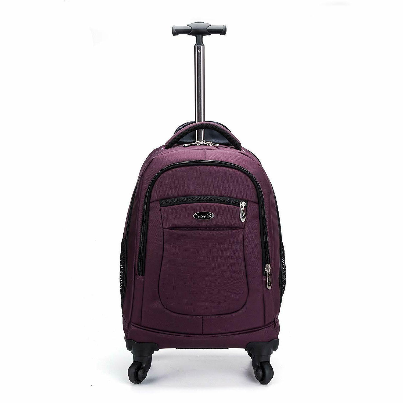 nylon waterproof rolling backpack