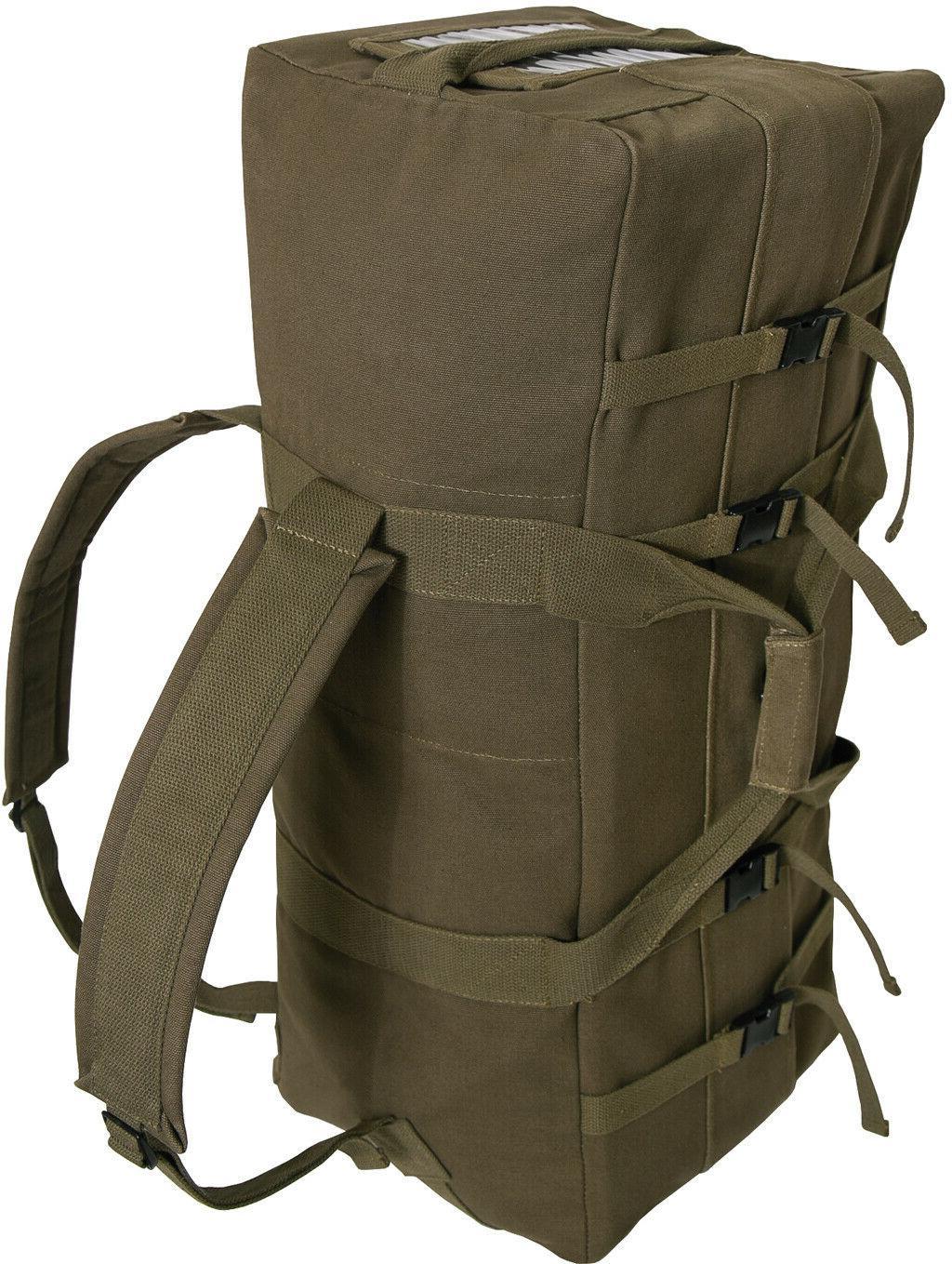Olive Canvas Gen II Bag Strap Backpack Tactical Type Duffel