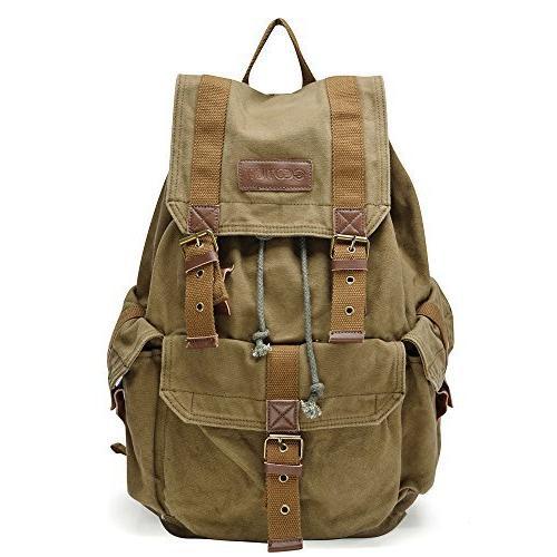 otium 21101amg canvas backpack
