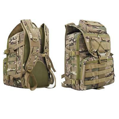 Outdoor Tactical Rucksack Backpack Camping Hiking Climbing Trekking Bag