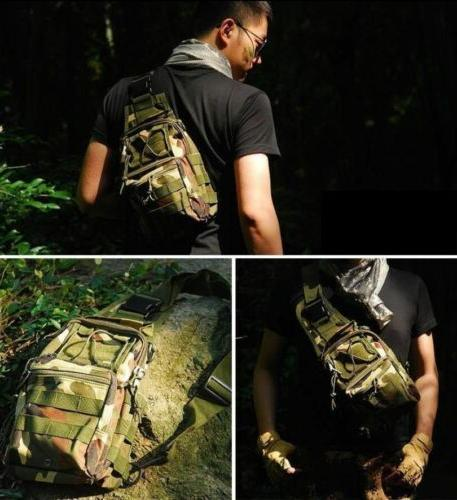 Outdoor Military Backpack Travel Camping Hiking Trekking