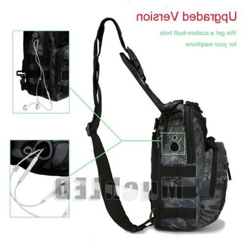 Outdoor Shoulder Military Backpack Trekking