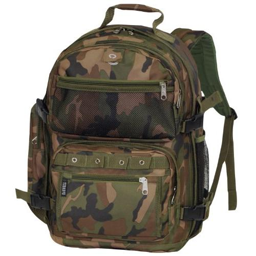Everest Oversize Woodland Camo Backpack
