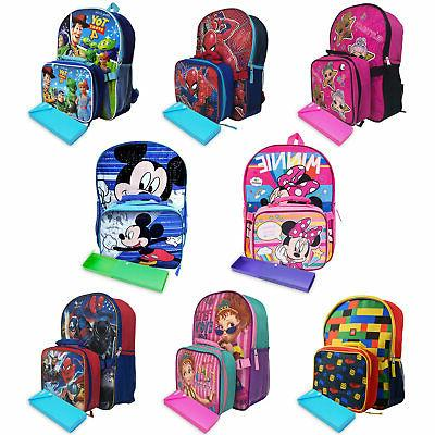 paw patrol marvel toy story backpack lunch