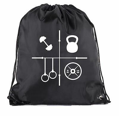 power lifting backpacks fitness drawstring weightlifting gym