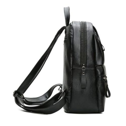 PU Leather Large Capacity Bag Girls