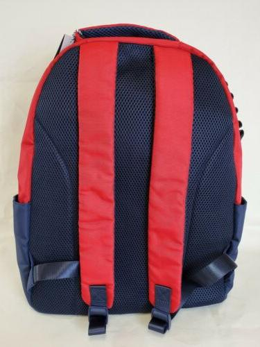 Vineyard Red and Blue Backpack Limited