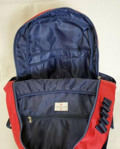 Vineyard Target Red and Blue Backpack | Limited Bag