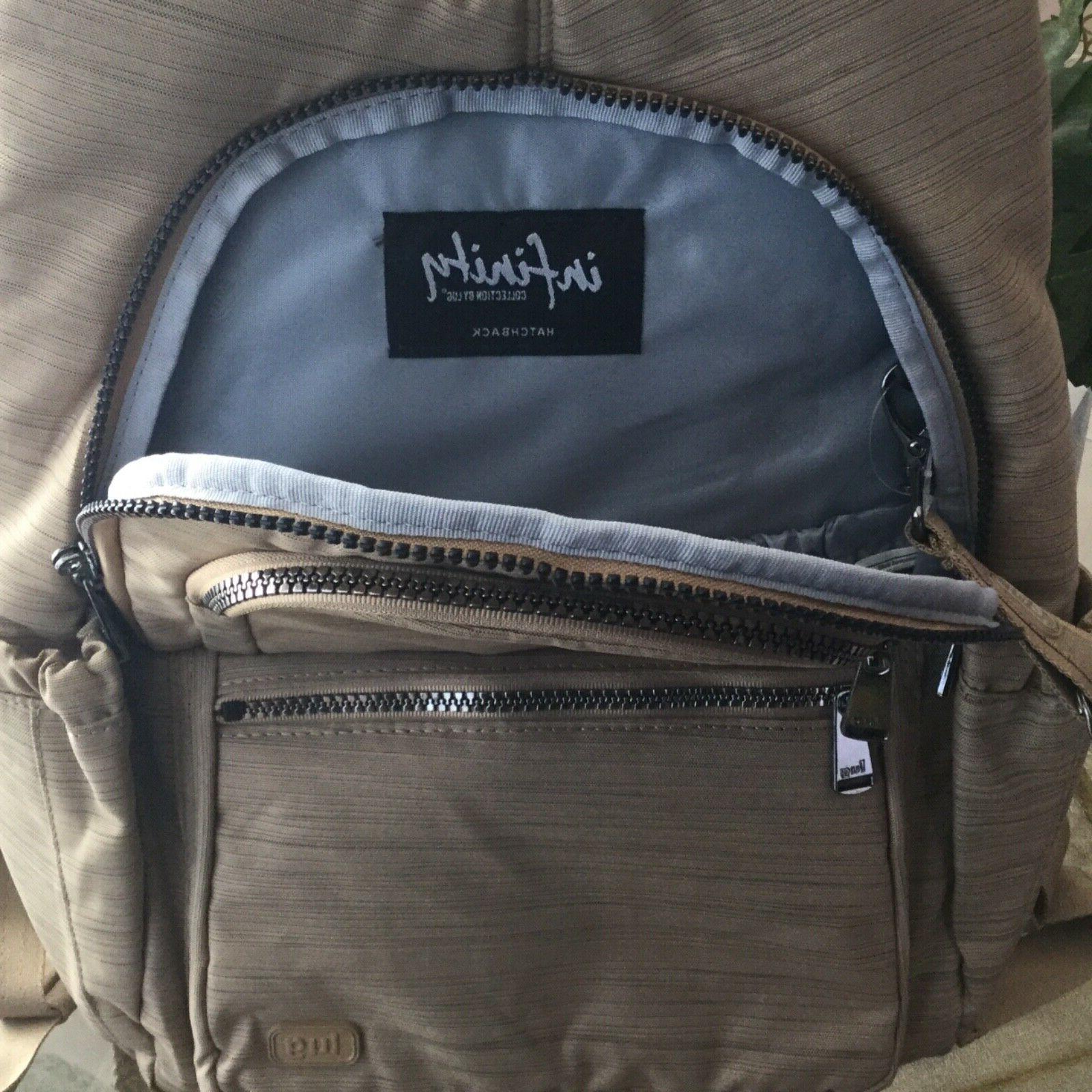 Lug Hatchback Travel School Commuter Handbag Brushed