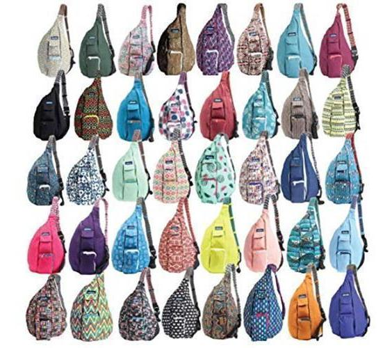 rope bag assorted colors