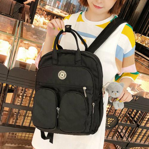 School Backpack Women Laptop Waterproof