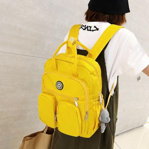 School Teenage Women Nylon Waterproof Bag Pack
