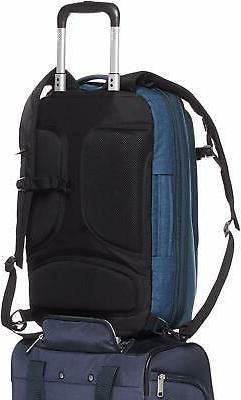 AmazonBasics Slim Carry On Travel Backpack, Green - Overnigh