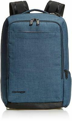 AmazonBasics Slim Carry On Travel Backpack Overnight Green