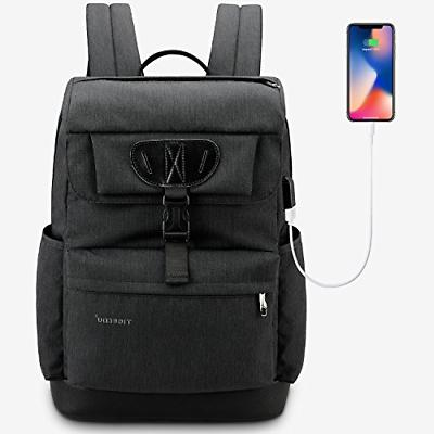 slim lightweight laptop backpack casual
