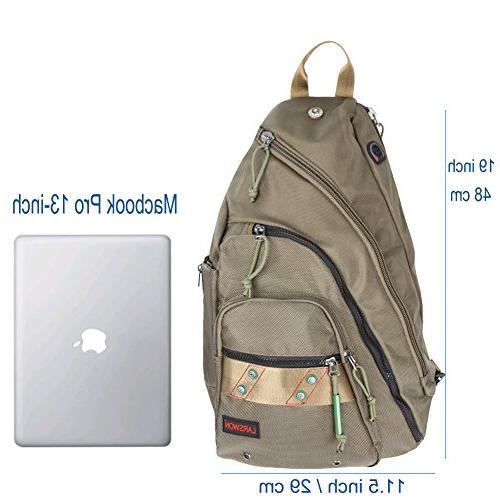 Larswon Backpack, Sling Bag for Crossbody Bag Bag for Women, Laptop Backpack, Backpack