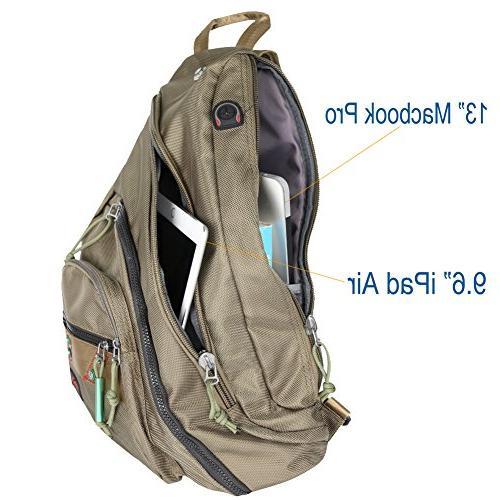 Larswon Sling Bag Bag Men, Backpack, Backpack