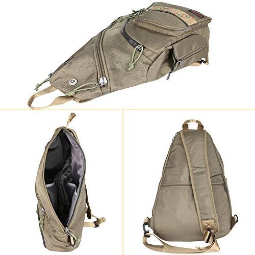 Larswon Sling Bag Bag Men, Bag for Backpack,