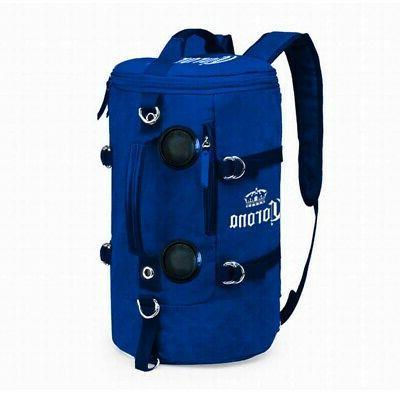 soft backpack wirelesstooth speakers cooler blue