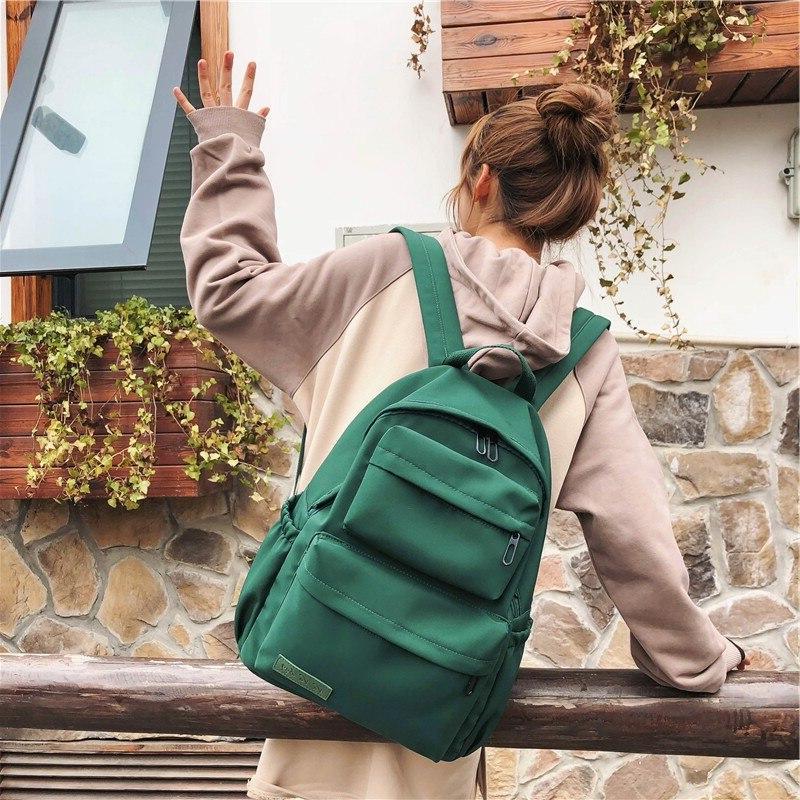 HOCODO <font><b>Backpack</b></font> For 2019 Nylon <font><b>Backpacks</b></font> Large Capacity Bag For