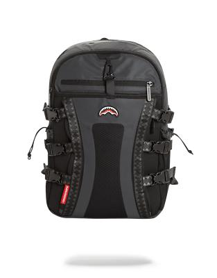 sprayground backpack black 3m reflective nomad
