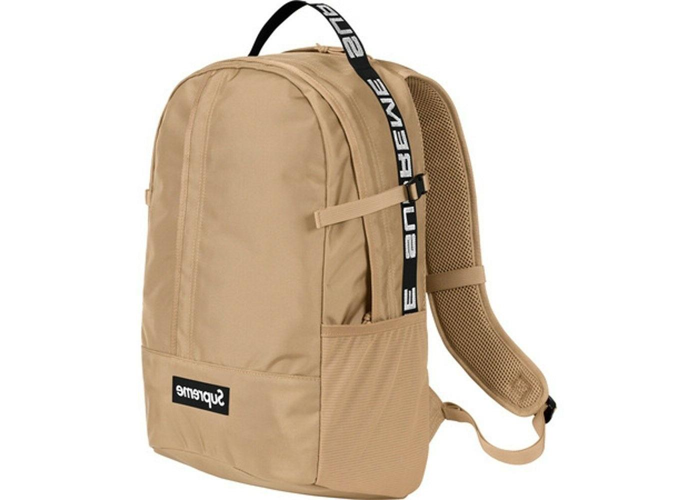ss18 backpack authentic box logo school bag