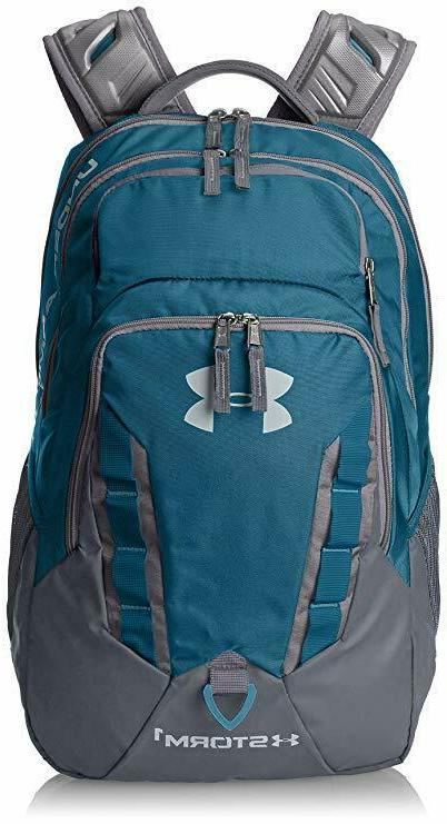 7de074aa503b Under Armour Storm Recruit Backpack, Bayou Blue/Graphite, One