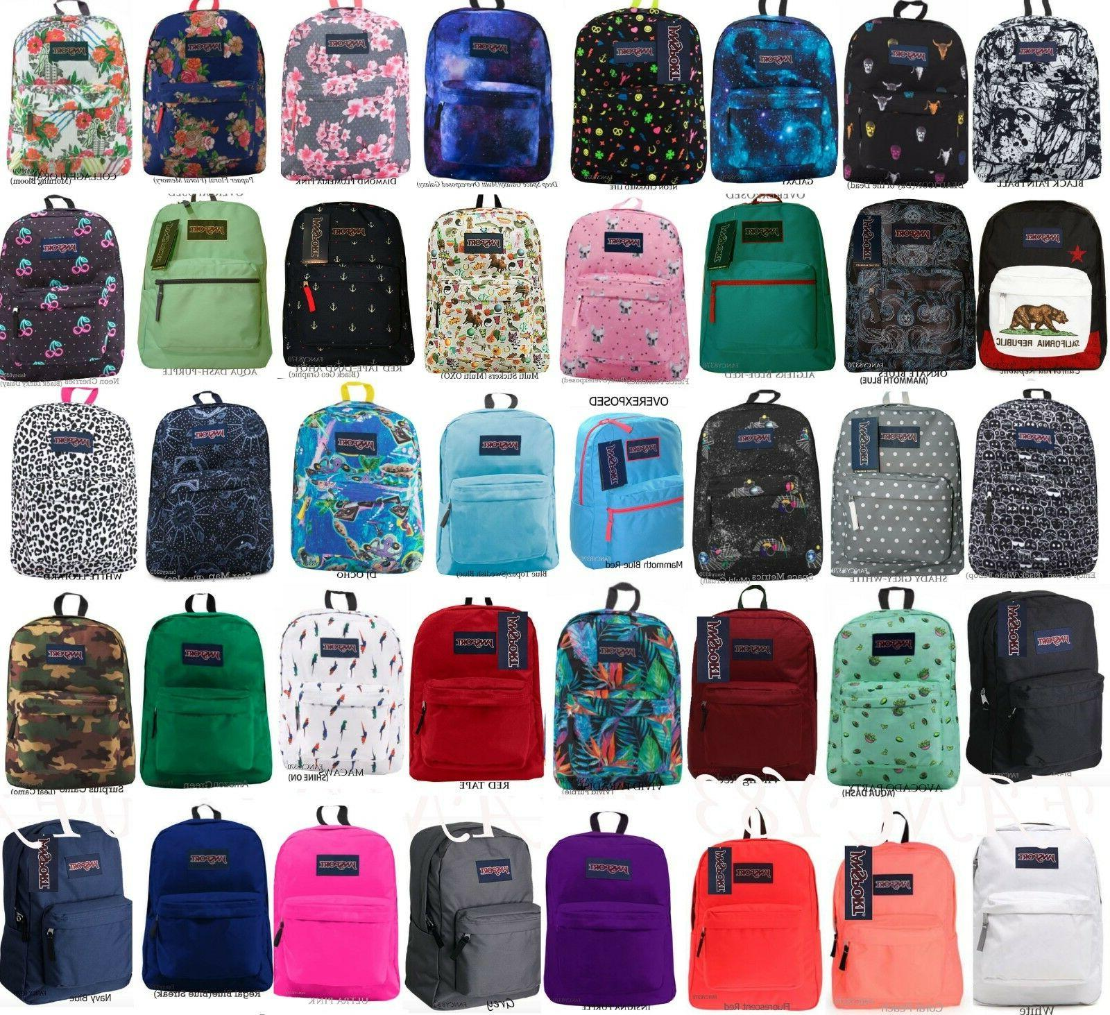 superbreak backpack 100 percent authentic school bag