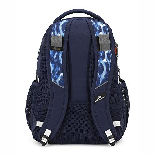 High Sierra Swerve Backpack, True Ikat/White
