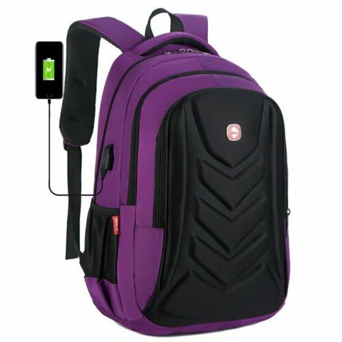 "Swiss Protect 15.6"" Backpack Charge Travel Bag"