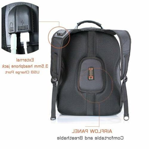 Swiss Waterproof Laptop Backpack Port