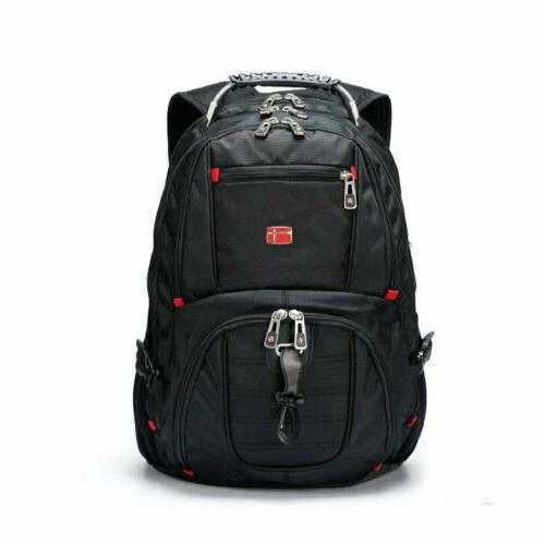Laptop Backpack USB Port Schoolbag