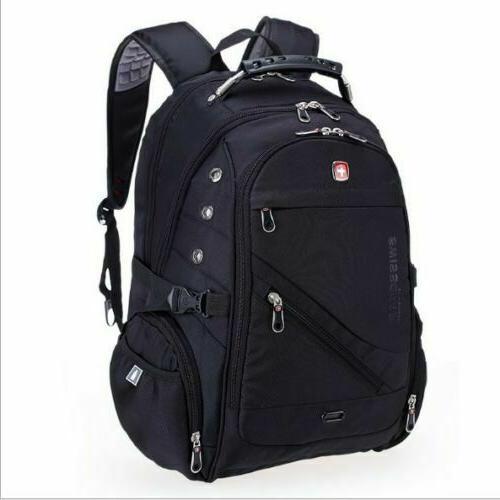 swissgear waterproof versatile macbook laptop backpack hike