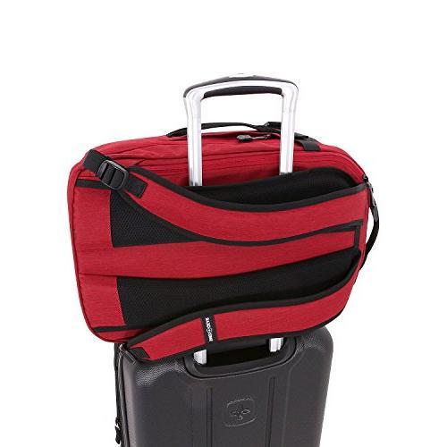 SwissGear Weekender Duffel / Bookbag Hybrid, fits Most Computers