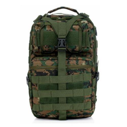 Tactical Shoulder Crossbody Bag Hiking Camping Army