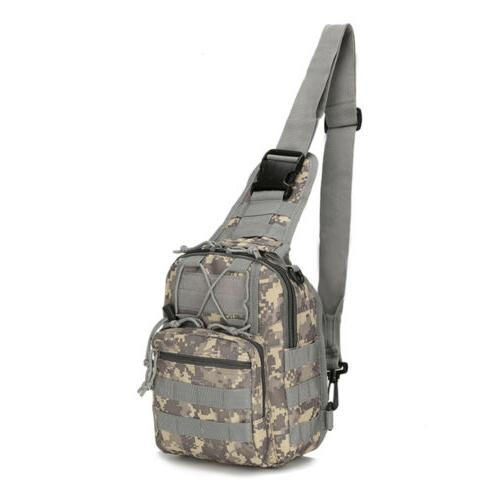 Tactical Chest Backpack Men's Molle Messenger Shoulder