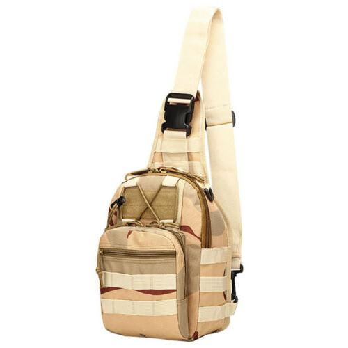 Tactical Chest Bag Men's Molle Messenger