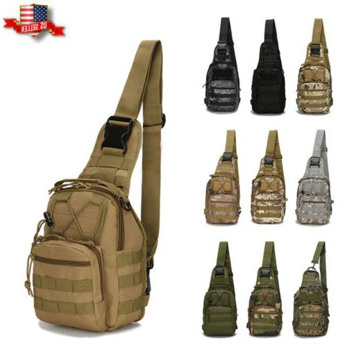 tactical chest bag backpack men s molle