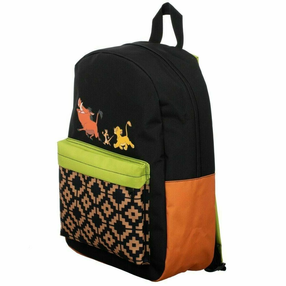 Disney Hakuna Matata Laptop Backpack School