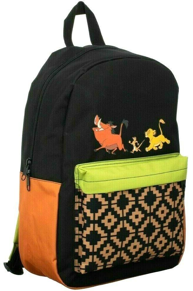 the lion king hakuna matata laptop backpack