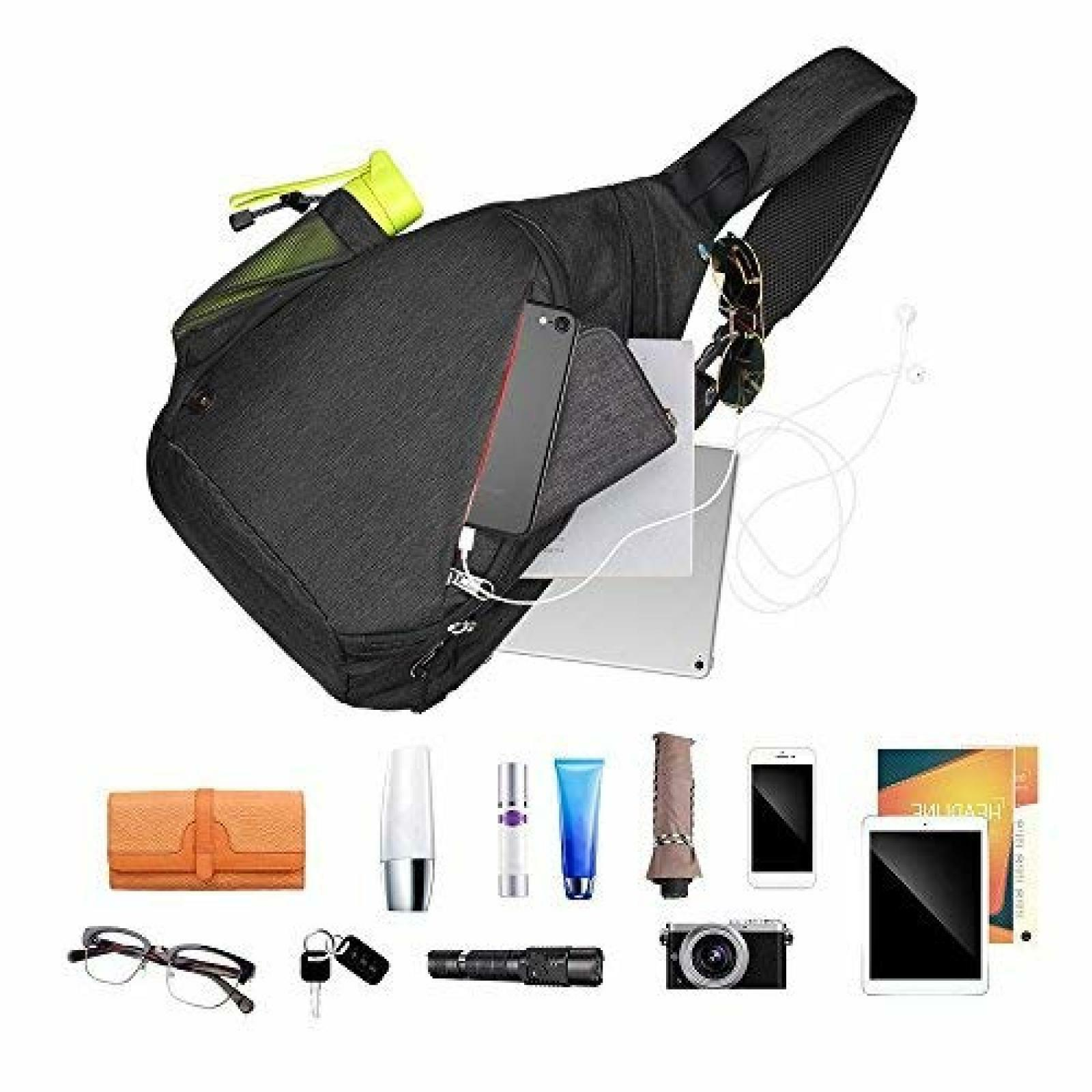 Toupons Sling Bag Small Crossbody Backpack Men Delivery 3