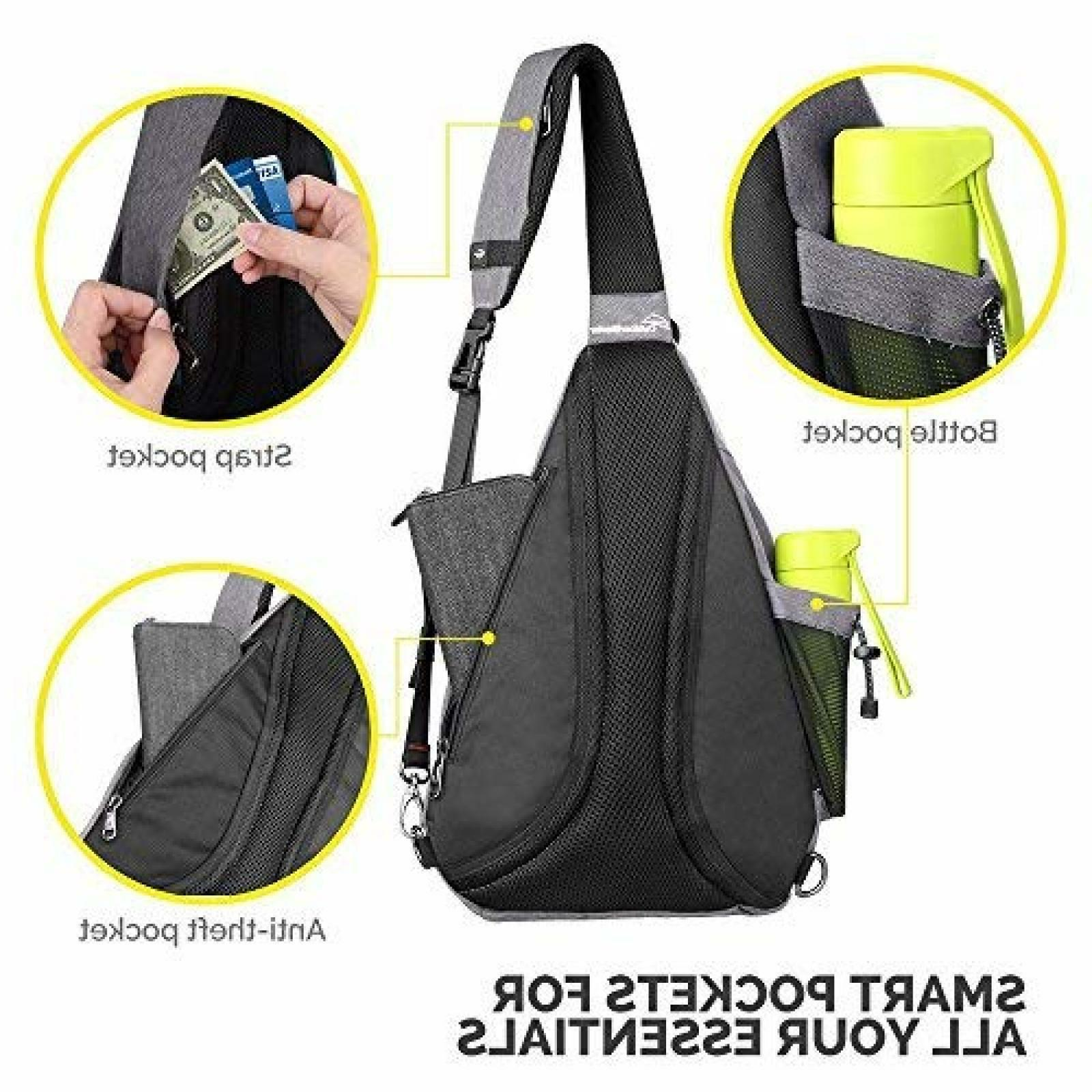 Toupons Bag Small Crossbody Backpack Men & Women|Free Delivery 3