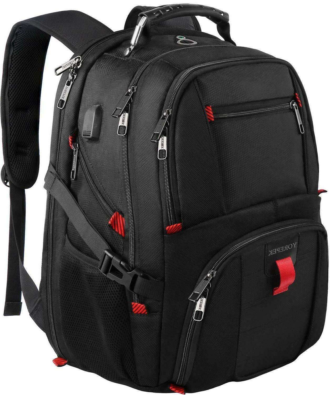 YOREPEK Travel Backpacks for Men, Extra Large College