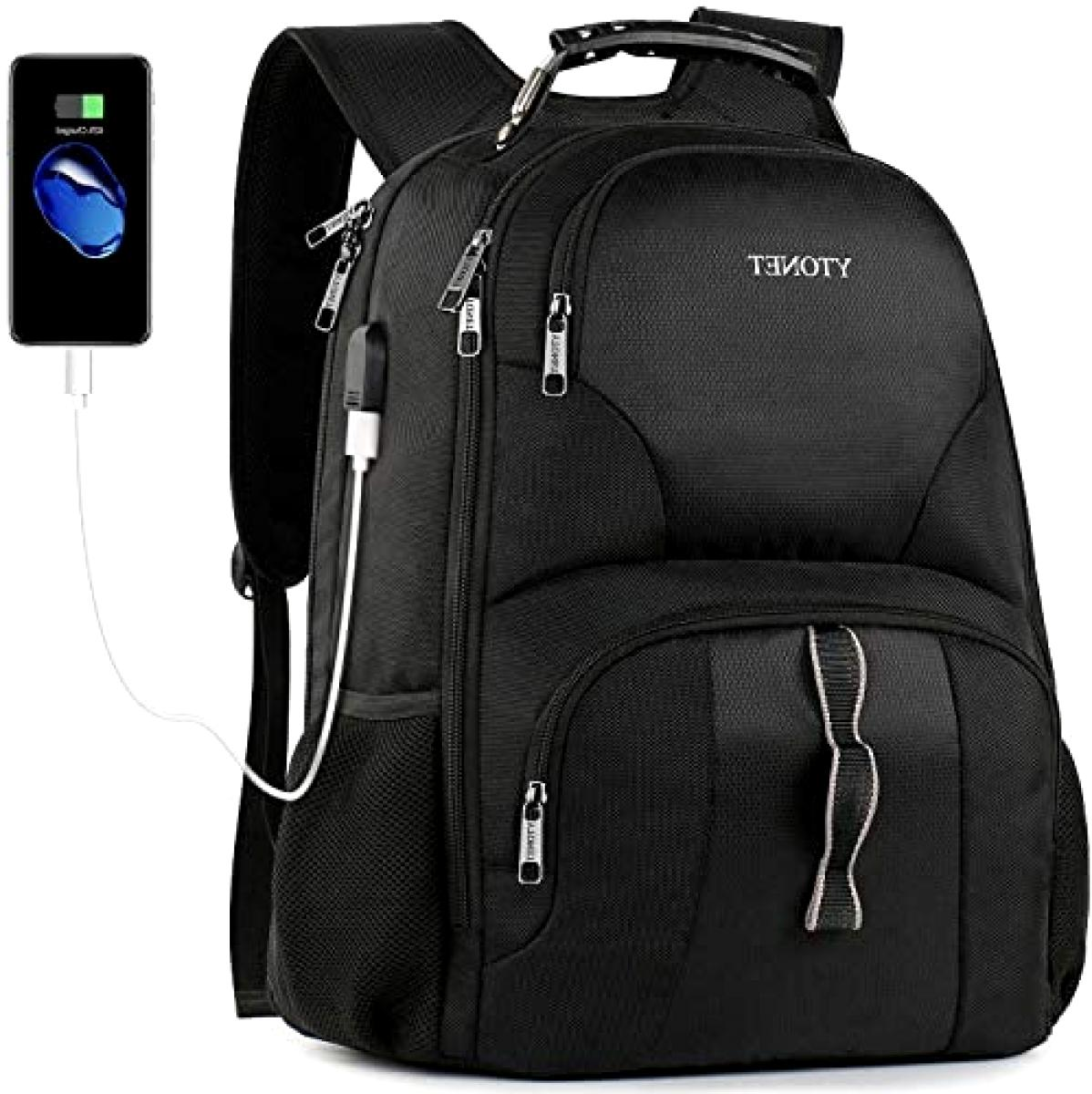 Travel Laptop Backpack Extra Large Anti Theft TSA Friendly B