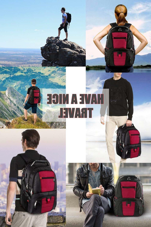 Travel Laptop Backpack Men Charging Inch