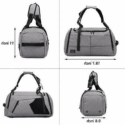 NeSus Duffel Bag Gym Bag Anti-theft
