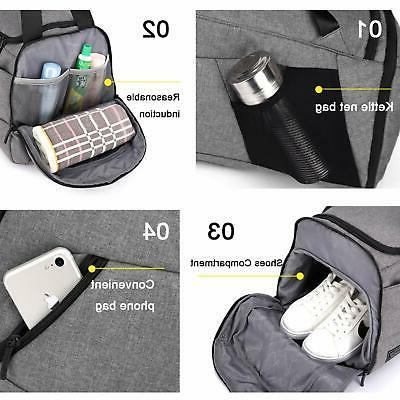 NeSus Travel Luggage Bag Lightweight Gym Bag Anti-theft