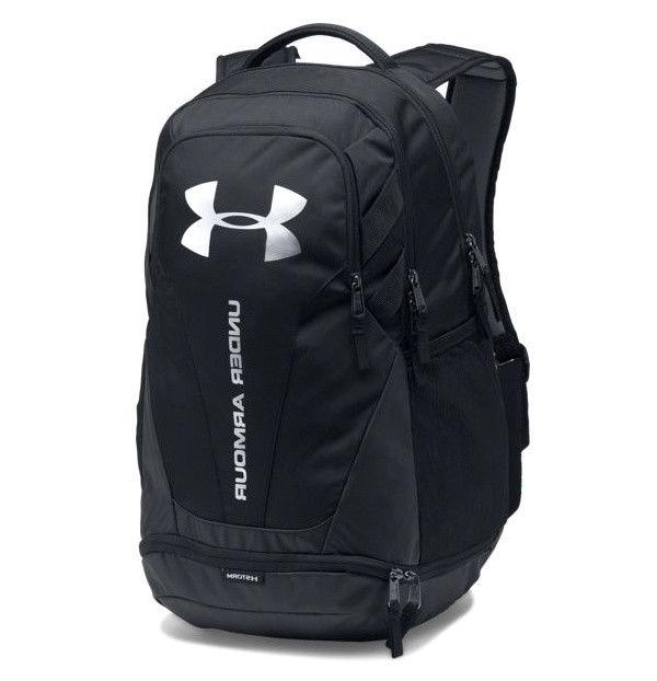 best service 77dcd 4e3d7 Under Armour UA Hustle 3.0 Storm Black Silver Backpack Book